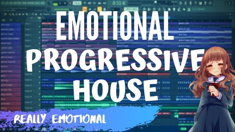 How To Make Real EMOTIONAL PROGRESSIVE HOUSE music - FL Studio