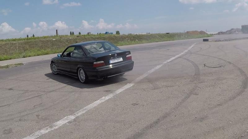 Тест драйв БМВ Е36 М3 CARDYNAMIC Test drive BMW E36
