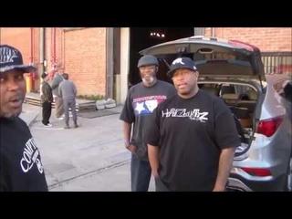 DJ Premier Listening to a new song from the MC Eiht - Which Way Iz West Album.