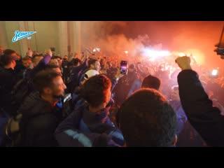 Встреча чемпионов в Пулково