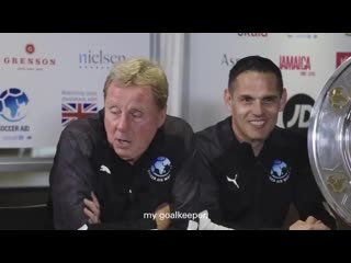 Socceraid - soccer aid world xi team announcement - harry redknapp makes his starting xi f.mp4