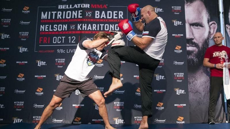 Открытая тренировка Федора Емельяненко проведет бой с Челом Сонненом на турнире Bellator 208