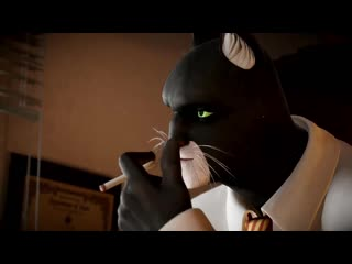 Blacksad under the skin | story trailer esrb | microïds, pendulo studios & ys interactive