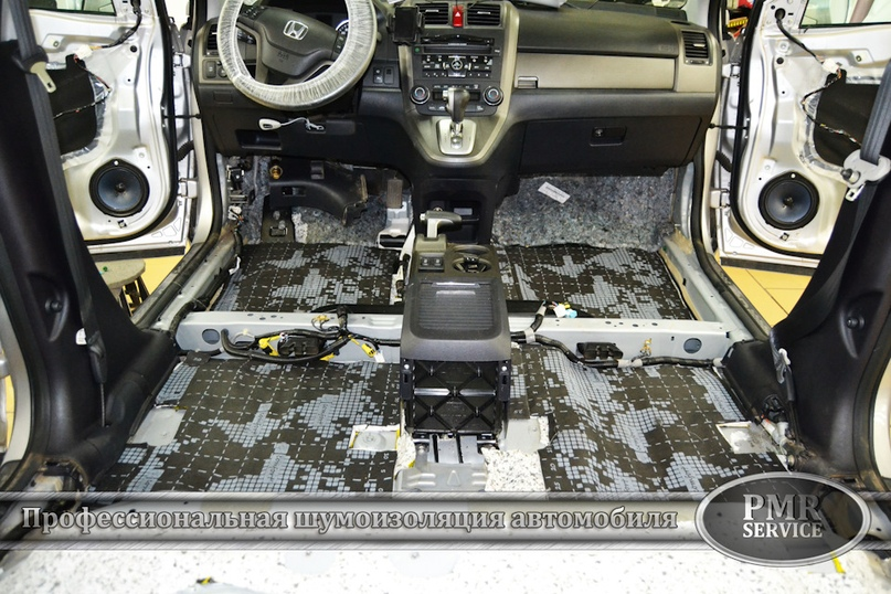 Шумоизоляция Honda CRV, изображение №5