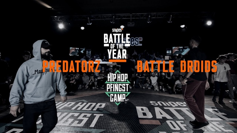 Predatorz vs Battle Droids | Crew Semifinal | Hip Hop Pfingstcamp X Snipes BOTY CE 2019
