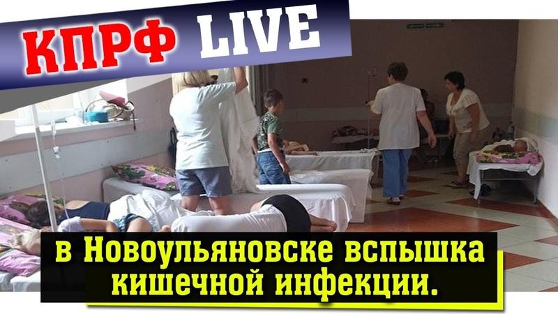 в Новоульяновске отмечена вспышка кишечной инфекции.