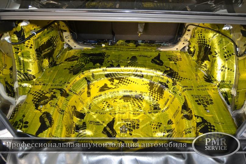 Комплексная шумоизоляция Toyota Camry, изображение №8