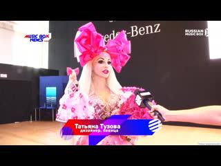 Mercedes-benz fashion week. показ бренда кукла таня. дизайнер таня тузова русская барби. russian music box