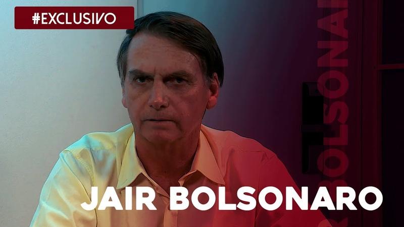 Confira entrevista exclusiva com o presidente Jair Bolsonaro