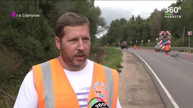 160 километров дорог в Подмосковье до конца года оборудуют катафотами