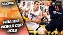 Serbia v United States Men's Full Game FIBA 3x3 World Cup 2019