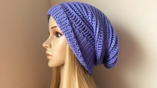 How To Crochet A Hat, Lilu's Handmade Corner Video # 87