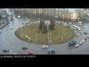 Авария 24-01-20 Кольцо пл. Строителей.