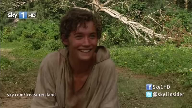 Treasure Island Toby Regbo Interviewed by Sky 2011