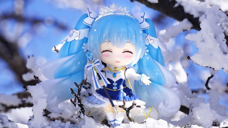 「ねんどろいど 雪ミク Snow Princess Ver 」一緒におでかけしてみた☆