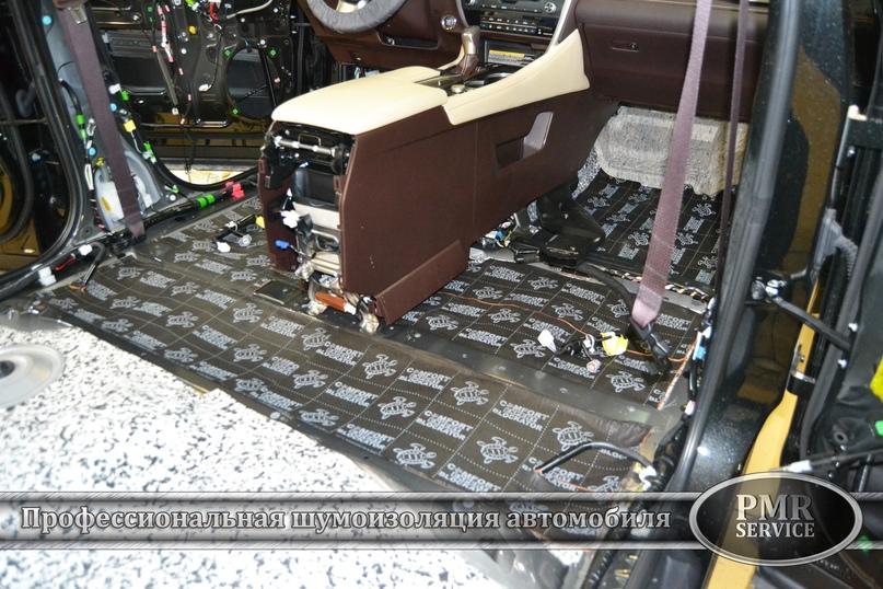 Шумоизоляция Lexus LX, изображение №4