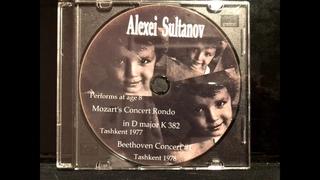 Gold fund Alesha Sultanov  Beethoven Concerto №1