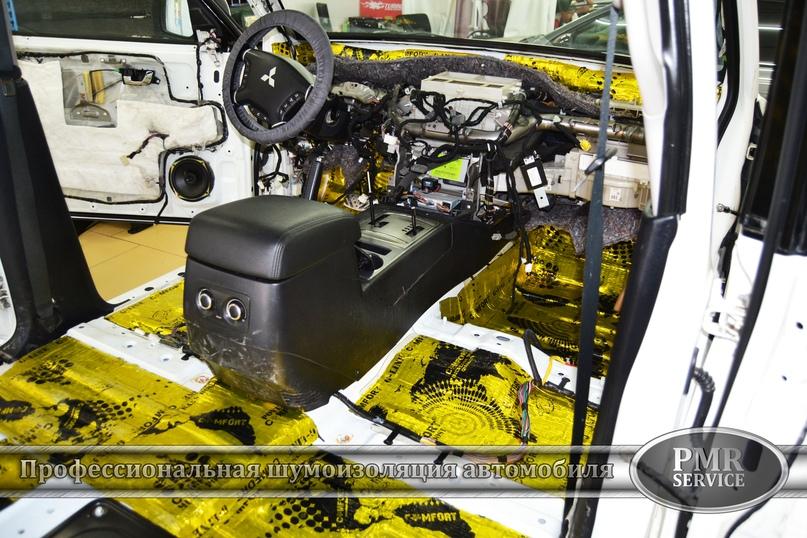 Шумоизоляция Mitsubishi Pajero, изображение №3