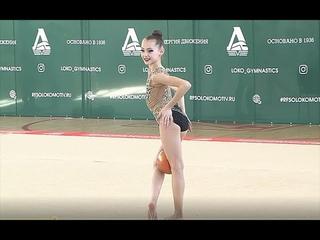 НАЗАРОВА ПОЛИНА 2007 МЯЧ Rhythmic gymnastics