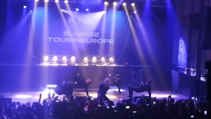 198014 fancam KNK 바랬어 Fade @ Sunrise Tour in Europe Berlin
