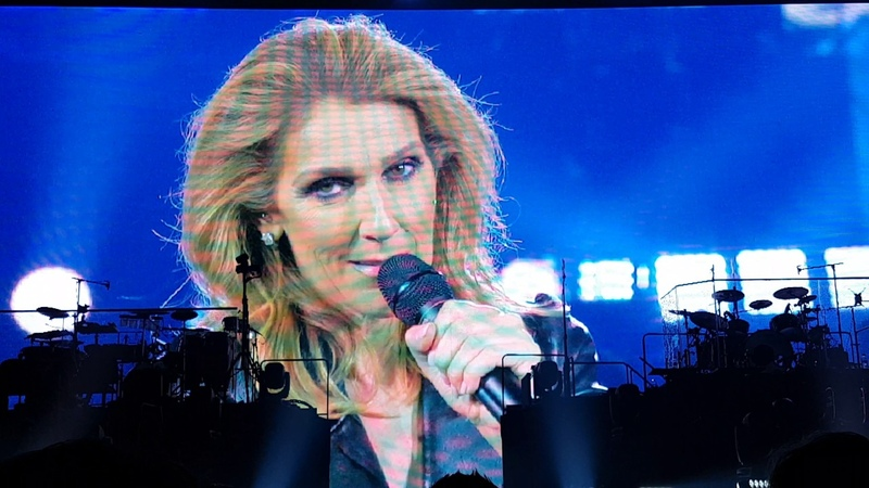 Celine Dion Love Of My Live Queen Cover London DVD Recording 29 07 2017