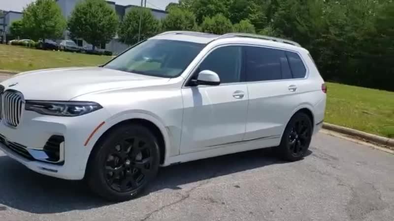 2019 BMW X7 Fletcher, Hendersonville, Waynesville, Marion, Asheville, FL KLS3812