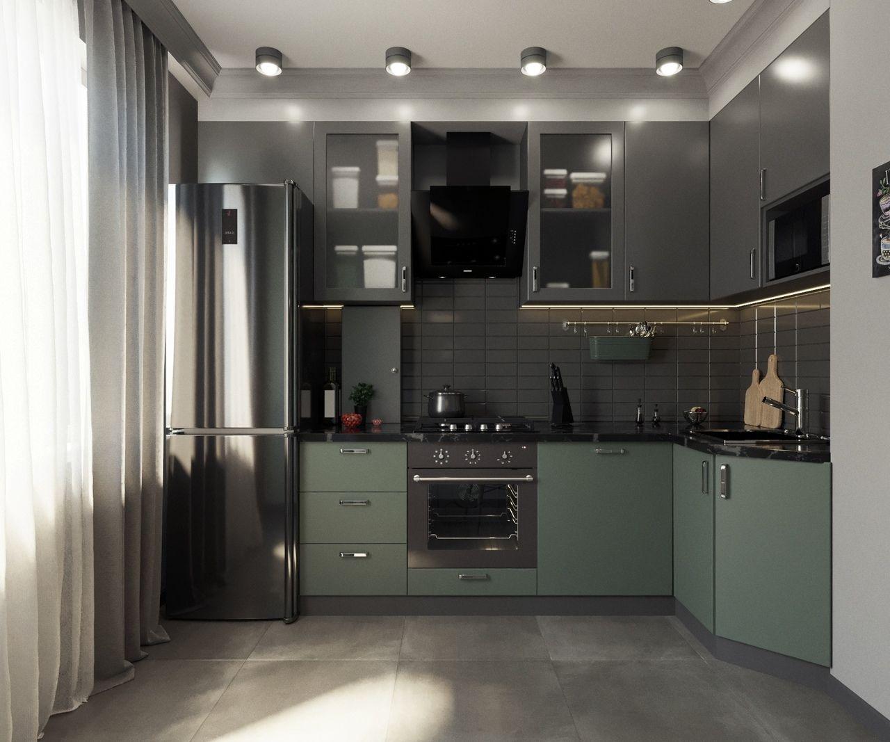 Стильная и интересная кухня от Максима Савченко