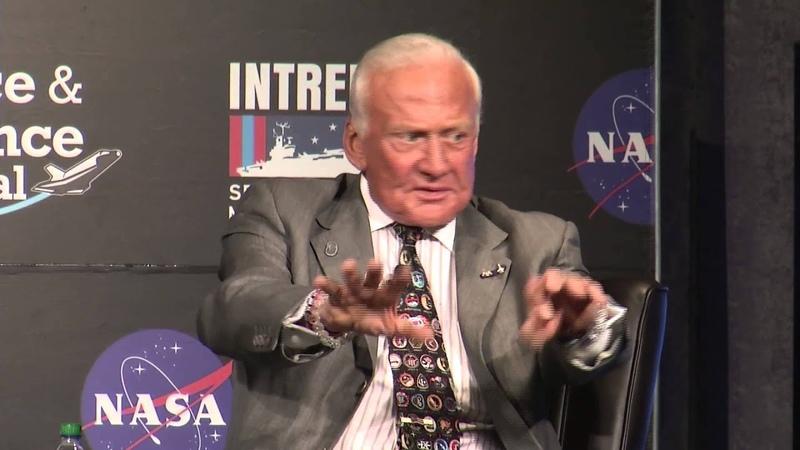 Buzz Aldrin Describes Walking on the Moon