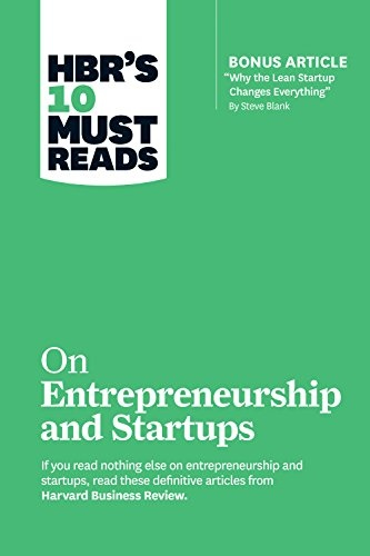 10 Must Reads on Entrepreneurship and Startups