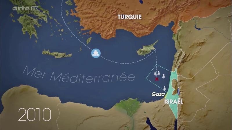 Le dessous des cartes Méditerranée Les batailles du gaz 3 mai 2014