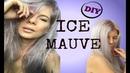 DIY CRAZY COLOR ICE MAUVE Hair Dye METALLIC MAUVE