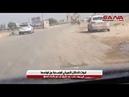 قوات الاحتلال الأمريكي المنسحبة من قواعدها في ريف حلب عبر طريق تل تمر باتجاه العراق