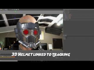 Star lord helmet effect teaser! film learnin