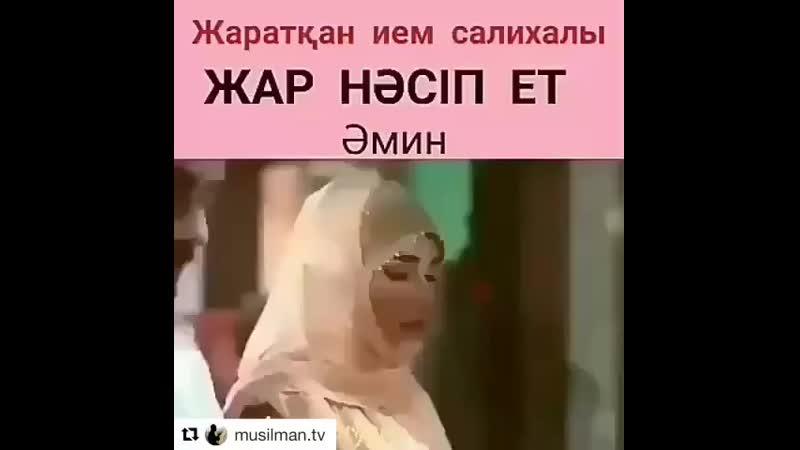 Аминь!  Ин шаа Аллах!  آمين!  ان شاء الله!  Əмин!  Аллаһ қаласа! [HD]