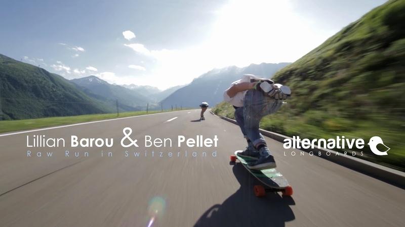 Lillian Barou Ben Pellet - Raw Run in Switzerland / Alternative Longboards