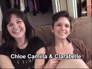 Chloe Camilla and Clarabelle