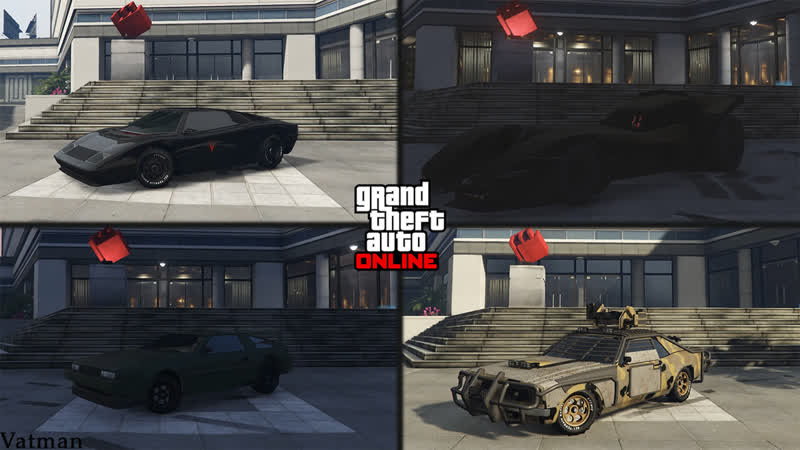 Самый быстрый вооруженный автомобиль в GTA Online Vigilante Tampa с оружием Deluxo Stromberg