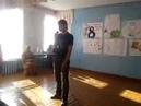 Поздравление с 8 марта в исполнении учащегося 8 класса Колодизного Алексея