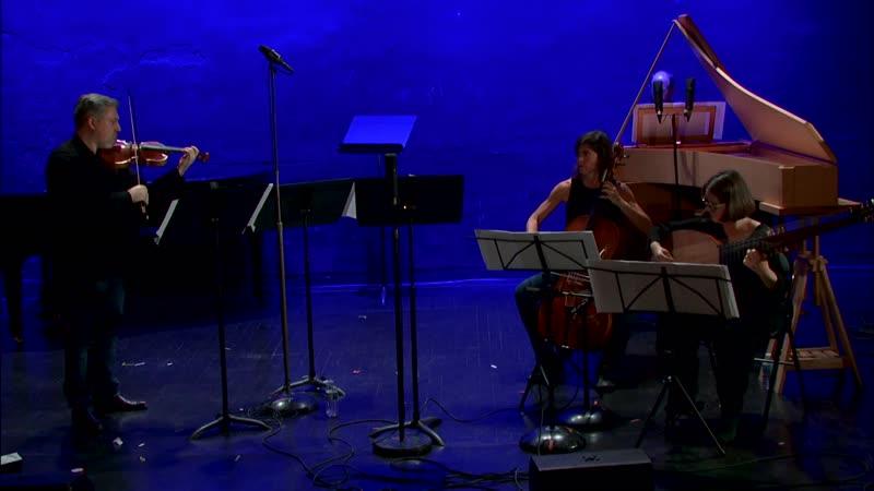 Evaristo Felice dall'Abaco - Sonate pour violon et basse continue en sol mineur op. 4 n° 12 - Les Accents [Thibault Noally]