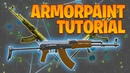 Texture painting AK-47 with ArmorPaint - Blender 2.8 Tutorial