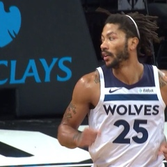 @nbatv on Instagram: Derrick Rose dropped 25 for the @timberwolves as they defeated the Nets in Brooklyn!