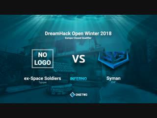 DreamHack Open Winter 2018 EU Qualifier | Space Soldiers vs Syman | BO3 | de_inferno |by Afor1zm
