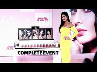 Katrina Kaif Own Brand KaybyKatrina Launched   COMPLETE EVENT   Nykaa #makeupthatkares