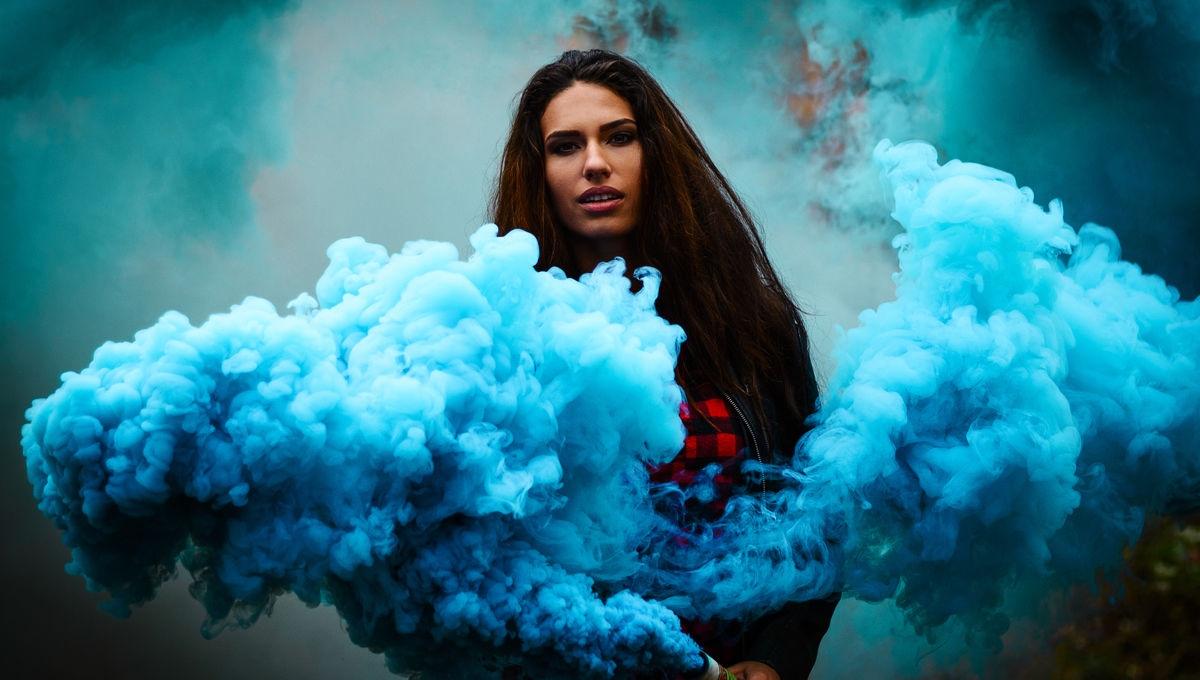 Фотосессия с дымовыми шашками курск