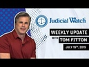 Tom Fitton: Obama State Dept. Caught in RussiaGate, Ilhan Omar Marriage Scandal, KY Voter Rolls