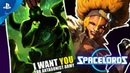 Spacelords | I Want You For Antagonist Army | PS4 2019