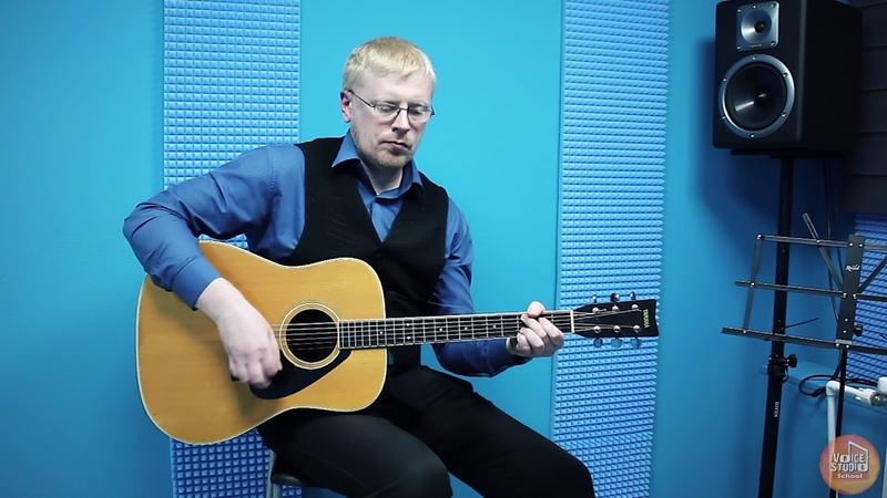 Павел Алпеев - преподаватель по классу акустическая гитара. Voice-Studio School