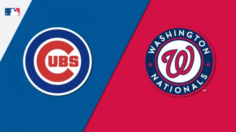 NL 13 09 2018 CHI Cubs @ WAS Nationals 1 1