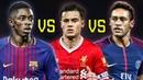 Neymar Jr vs Ousmane Dembele vs Philippe Coutinho ● Skills Goals   2018 HD