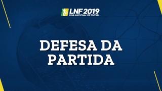 LNF2019 - Defesas das Partidas - 6ª Semana